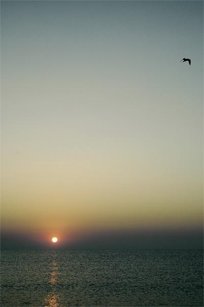 sunset at vama veche