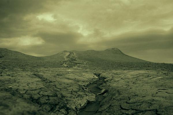 muddy volcanoes