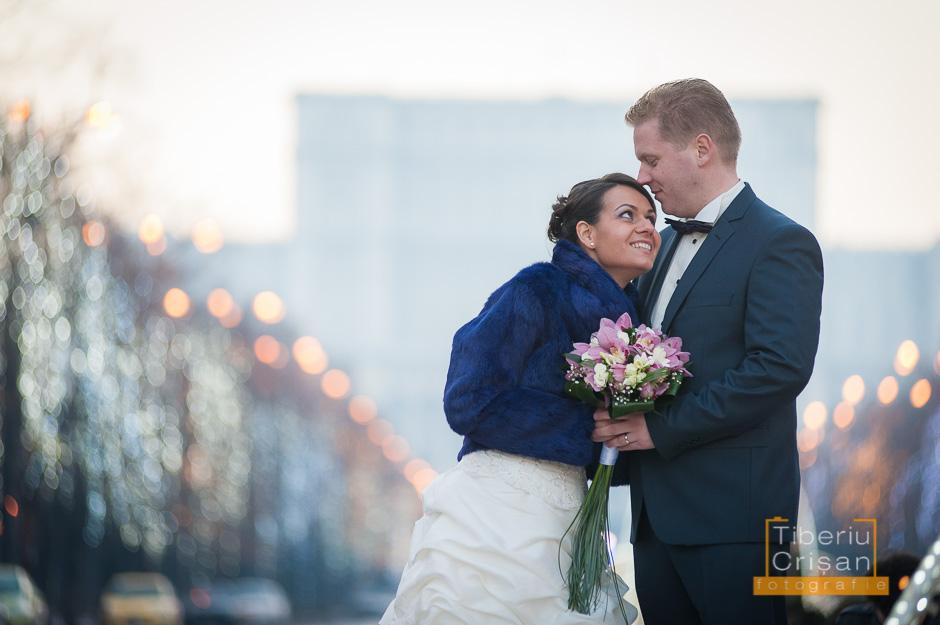 Sedinta foto nunta in Bucuresti