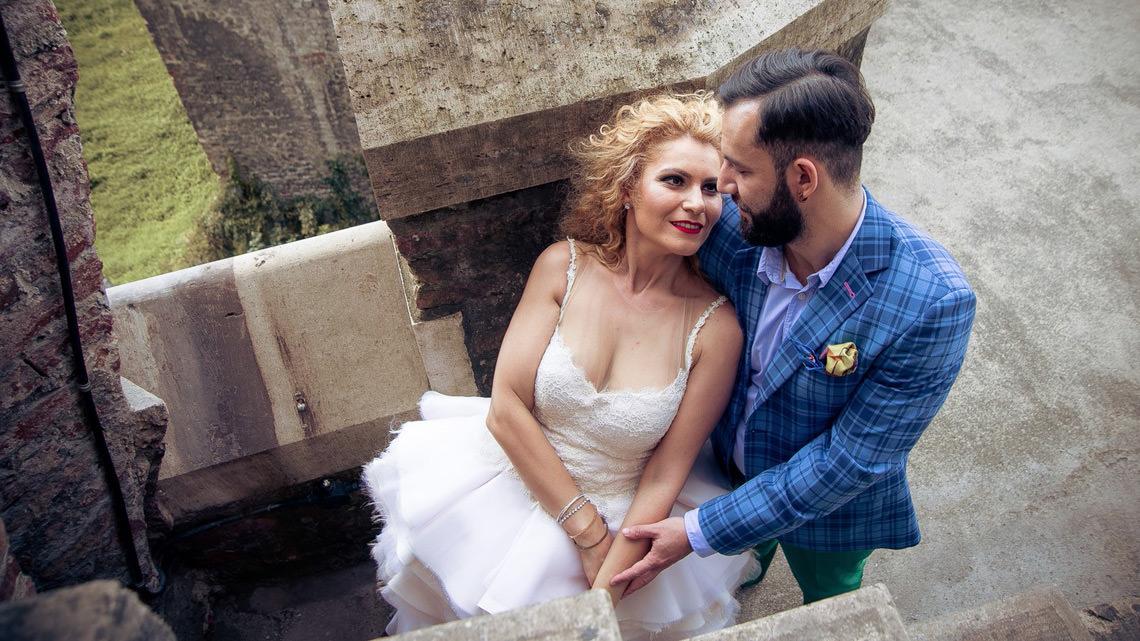 Sedinta foto dupa nunta - Trash the Dress