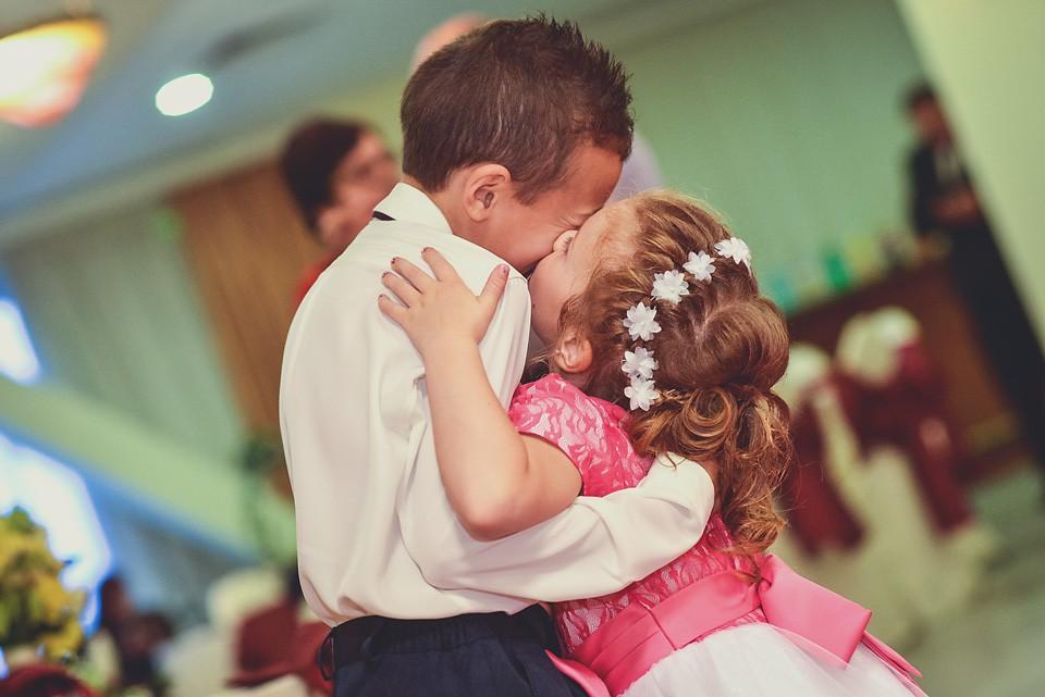Copiii la nunta