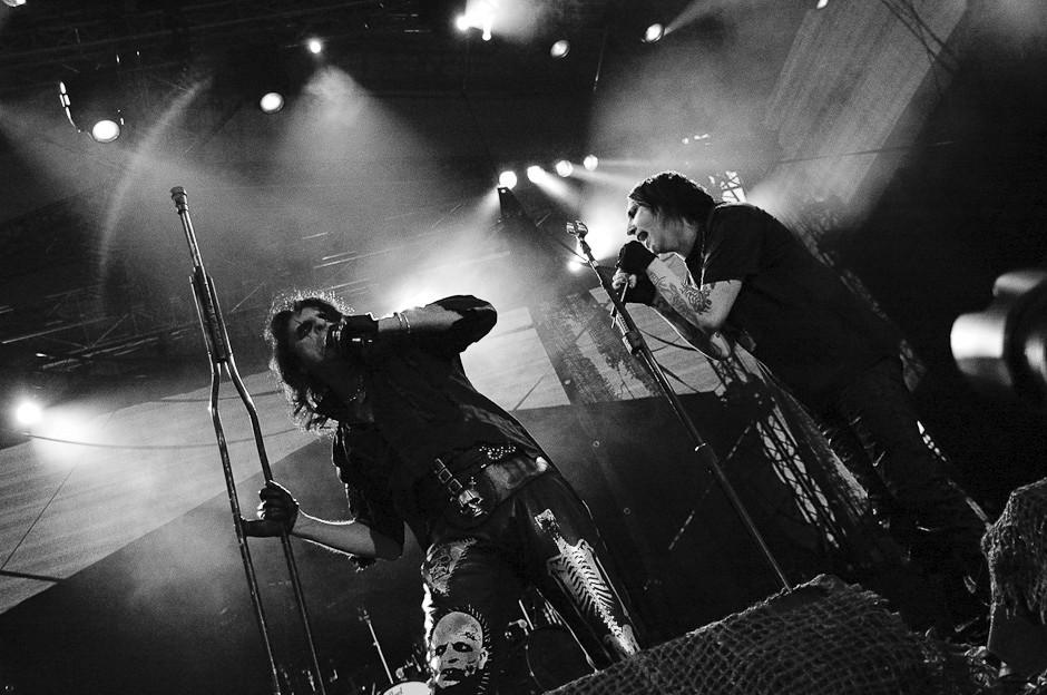 Alice Cooper si Marilyn Manson