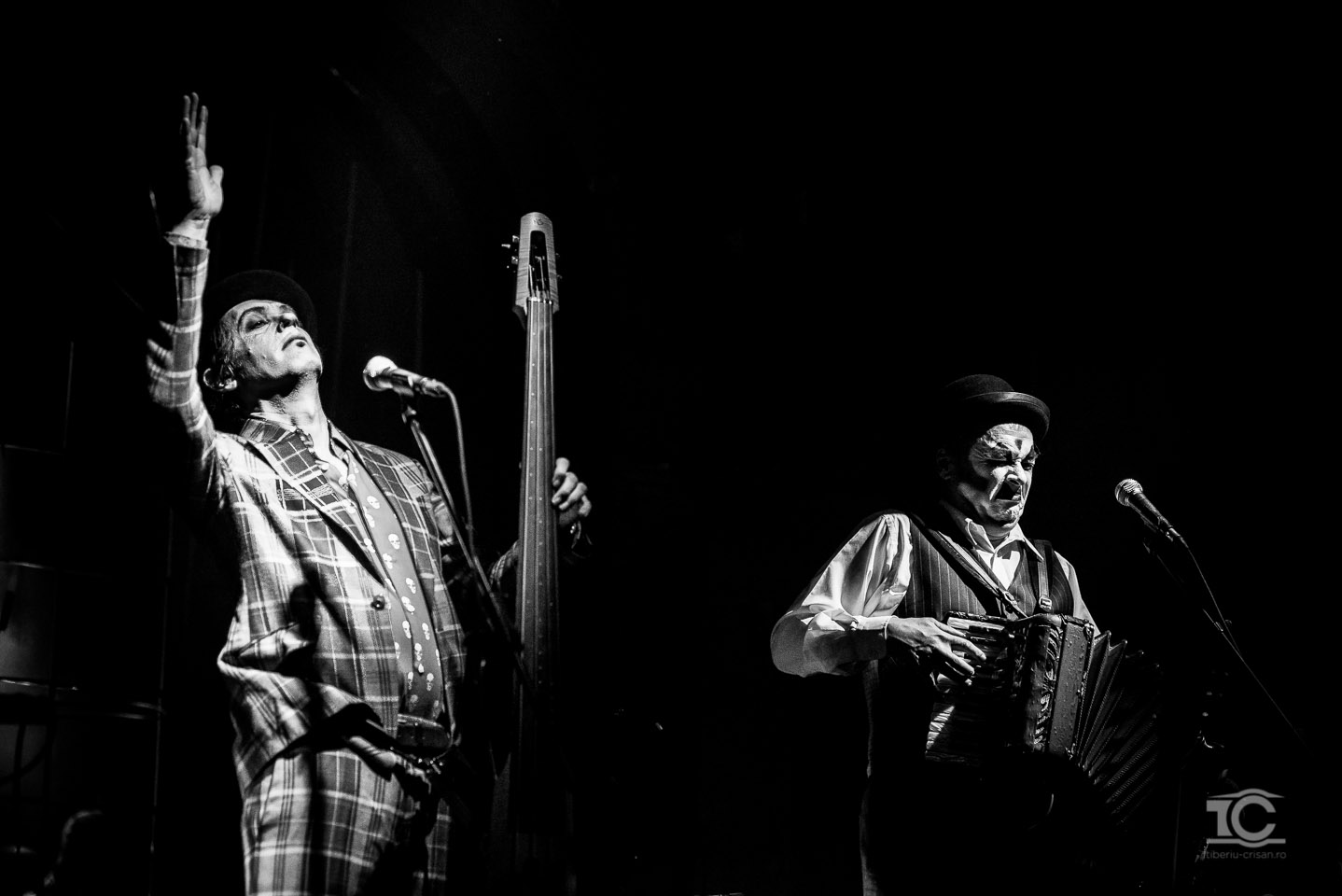 The Tiger Lillies live la Cluj-Napoca