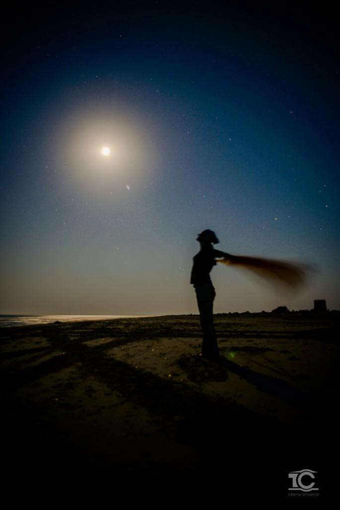 Noaptea pe plaja de la Sfantu-Gheorghe