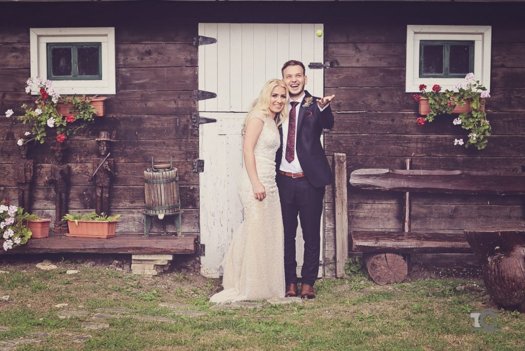 Sedinta foto din timpul petrecerii de nunta Helga si Andrei